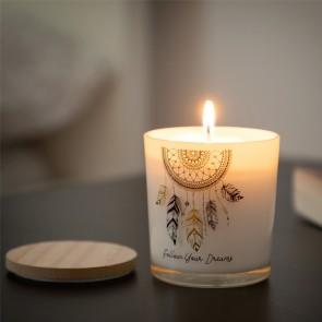 Candela Aromatica Acchiappasogni Mandala