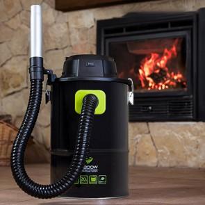 Aspirapolvere per Cenere Cecoclean PowerAsh 5084 20 L 1200W Nero Verde