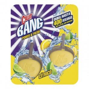 Deodorante in Pastiglie per WC agli Agrumi WC Power & Fresh Cillit Bang (Pacco da 2)