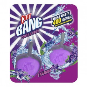 Deodorante in Pastiglie per WC Lavanda WC Power & Fresh Cillit Bang (Pacco da 2)