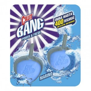 Deodorante in Pastiglie per WC Marino WC Power & Fresh Cillit Bang (Pacco da 2)