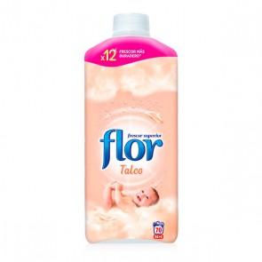 Ammorbidente Concentrato Flor Talco 1,5 L (70 Lavaggi)