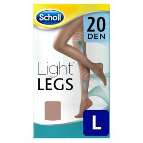 Calze a Compressione Leggera Nude Dr Scholl 20 Den - L
