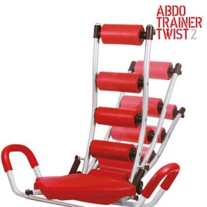 Panca ABDO Trainer Twist Sit Up con Estensori addominali