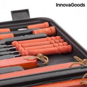 Valigetta per Barbecue InnovaGoods (18 Pezzi)