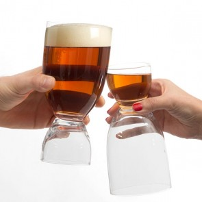 Bicchiere da Birra con Shot