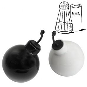 Set Saliera e Pepiera Bomba Gadget and Gifts