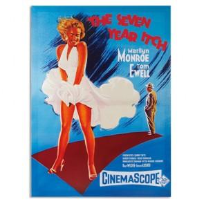 Locandina Marilyn Monroe The Seven Year Itch Homania