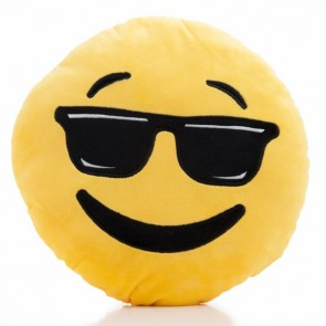 Cuscino Emoticon Cool