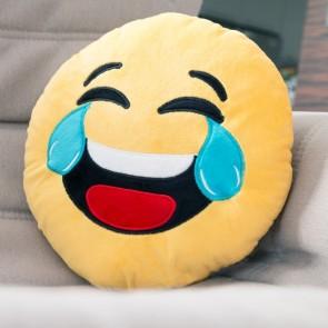 Cuscino Emoticon Risata