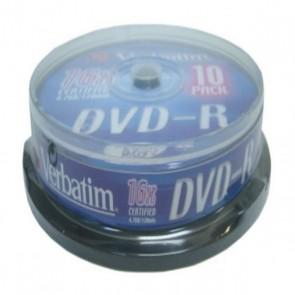 DVD-R Verbatim 43523 16x 10 pcs