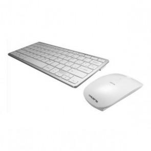 Tastiera e Mouse Wireless Tacens 6LEVISCOMBOV2 Bianco