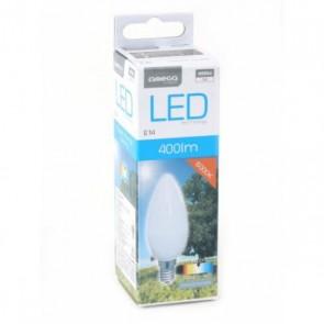 Lampadina LED Candela Omega E14 5W 400 lm 6000 K Luce Bianca