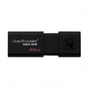 Pendrive Kingston FAELAP0229 DT100G3 32 GB USB 3.0 Nero