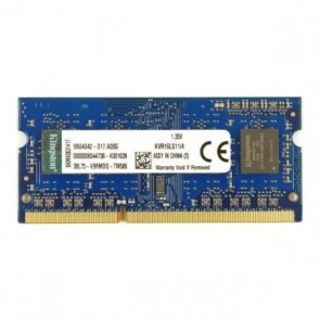 Memoria RAM Kingston KVR16LS11 4 GB 1600 MHz DDR3-PC3-12800