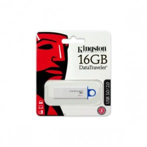 Pendrive Kingston DTIG4 16 GB USB 3.0 Bianco Azzurro