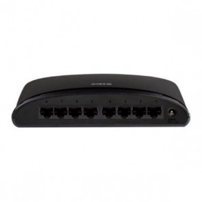 Switch D-Link DES-1008D 8 p 10 / 100 Mbps Nero