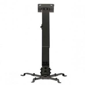Supporto da Soffitto Inclinabile per Proiettore TooQ PJ2012T 20kg 13 - 65 cm -15º/+15º Nero