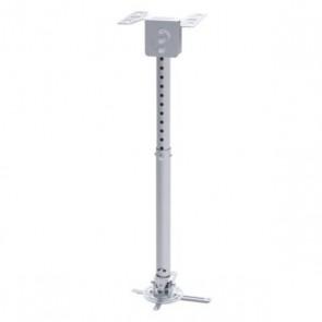 Supporto da Soffitto Inclinabile e Girevole per Proiettore TooQ PJ3030TN –S 20kg 57,5 - 82,5 cm -20º/+20º 360º Argento