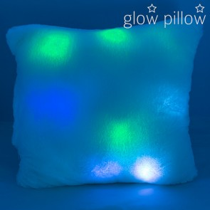Cuscino Fosforescente Illuminato LED Glow Pillow
