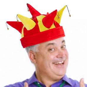 Cappello Giullare con 7 Sonagli Bandiera Spagnola
