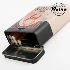 Portasigarette Metallico Vintage