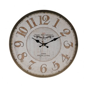 Orologio da Parete Antique Vintage Coconut