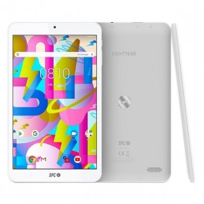"Tablet SPC 9744332B 8"" Quad Core 3 GB RAM 32 GB Bianco"