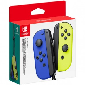 Gamepad Wireless Nintendo Joy-Con Azzurro Giallo
