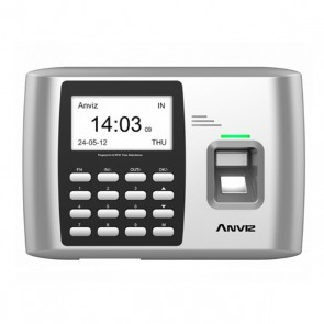 Sistema di Controllo di Accesso Biometrico Anviz A300 500 dpi WiFi Grigio