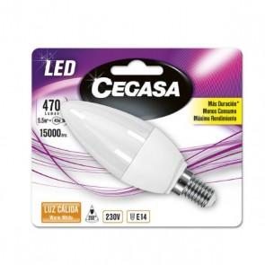 Lampadina LED Candela Cegasa E14 5,5 W A+