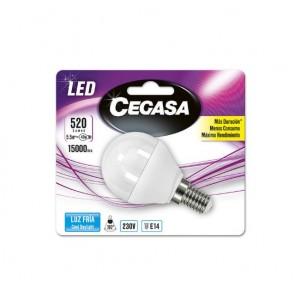 Lampadina LED Sferica Cegasa E14 5,5 W A+