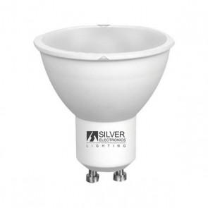 Lampadina LED Dicroica Silver Electronics ECO GU10 7W 6000K (Luce bianca)