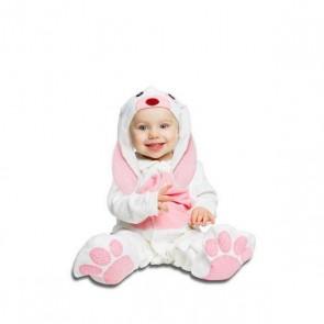 Costume per Neonati Coniglio Rosa