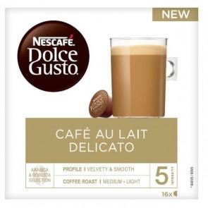 Capsule di caffè Nescafé Dolce Gusto Au Lait Delicato (16 uds)
