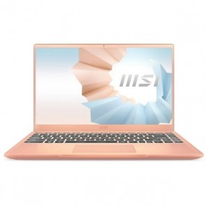 "Ultrabook MSI Modern 14-008ES 14"" i7-1165G7 16 GB RAM 1 TB SSD Oro rosa"