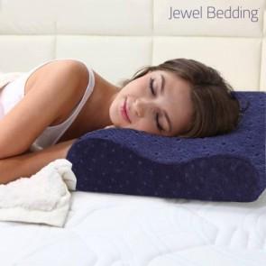 Cuscino in Memory Foam con Federa Jewel Bedding