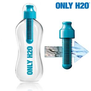 Bottiglia con Filtro Carbone Only H2O