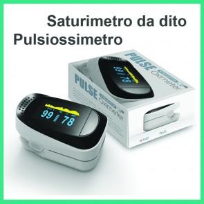 Saturimetro Strumento Misurazione Saturazione Ossigeno Pulsiossimetro Ossimetro da dito SpO2