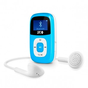 Riproduttore MP3 SPC 8668A 8 GB BLUETOOTH RADIO FM Azzurro