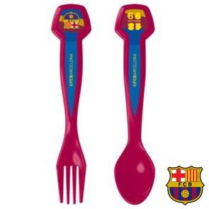 Set di Posate F.C. Barcelona 2 Pezzi