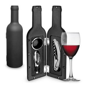 Set da Vino Bottiglia Bravissima Kitchn (3 Pezzi)