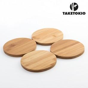 Set di Sottobicchieri in Bambù TakeTokio (pack da 4)