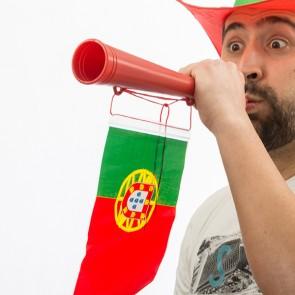 Trombetta da Stadio Bandiera del Portogallo