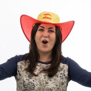 Cappello pieghevole bandiera della Spagna