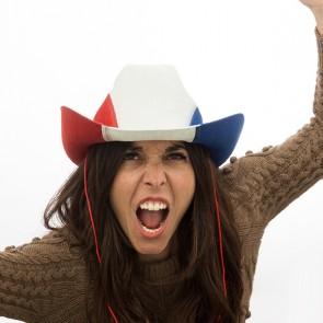 Cappello da Cowboy Bandiera Francese