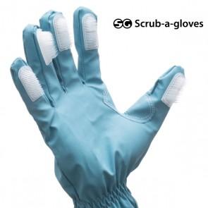 Guanti per la Pulizia con Spazzole Scrub-a-Gloves (pacco da 2)