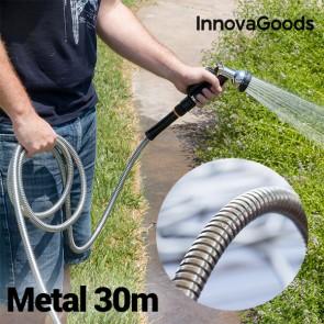 Tubo da giardino Metallico Infrangibile InnovaGoods (30 m)