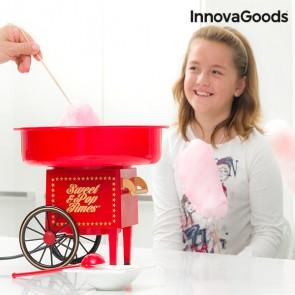 Macchina per Zucchero Filato InnovaGoods 500W Rossa