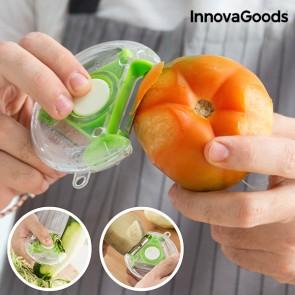 Pela-affetta Verdure rotante 4 in 1 Innovagoods